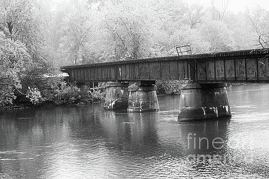 Railroad Bridge by Denise Woldring