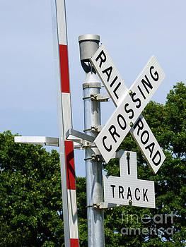 Railroad Crossing by Leara Nicole Morris-Clark