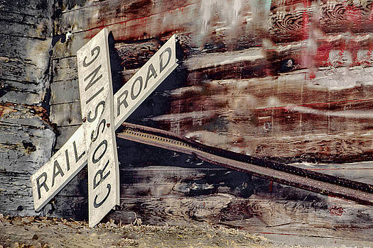Nikki Vig - Railroad Crossing Sign