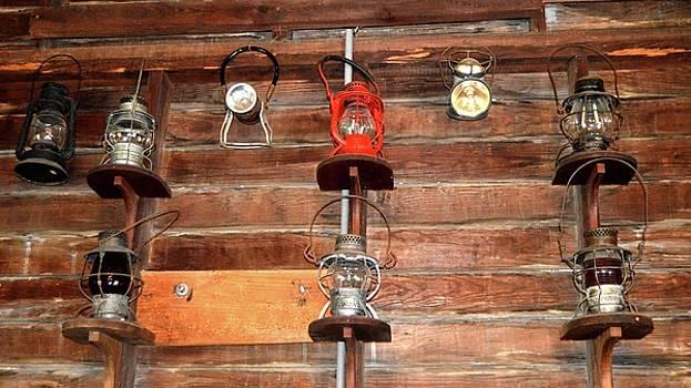 Railroad Lanterns by Sue Houston