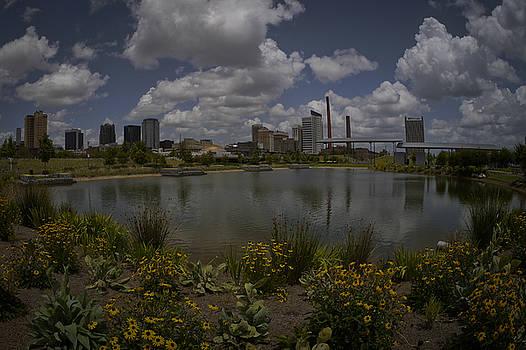 Railroad Park Skyline by Just Birmingham