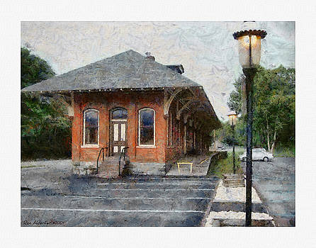 Railroad Station by Ron Alderfer