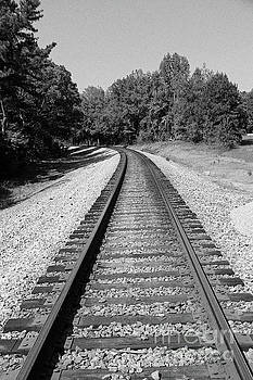 Railroad Track by Inspirational Photo Creations Audrey Woods