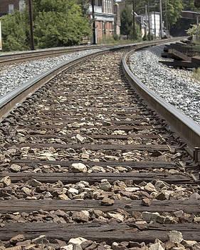 Railroad tracks by Danielle Allard
