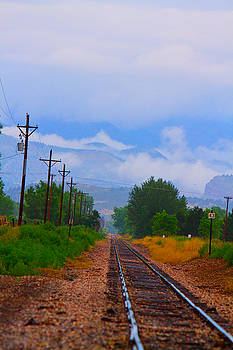 James BO  Insogna - Railway into the Clouds Vertical