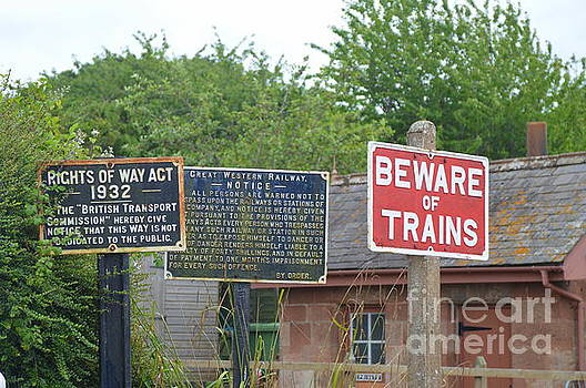 Railway Signs by Andy Thompson
