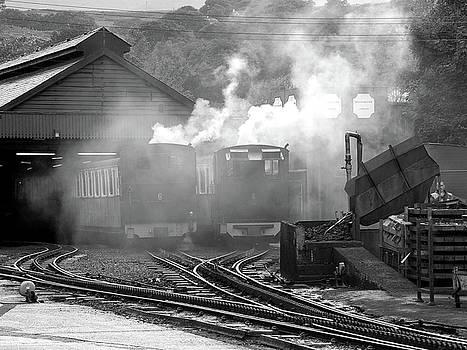 Railway Yard by Graham Taylor