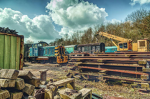 Stewart Scott - Railway yard II