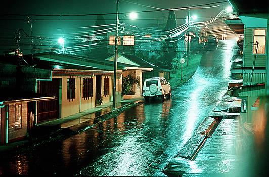 Heiko Koehrer-Wagner - Rain at night in San Jose