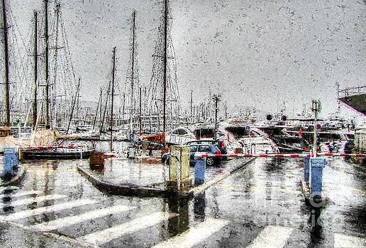 rain Cannes by Yury Bashkin