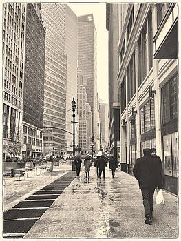 Rain in the City by Sandi Kroll