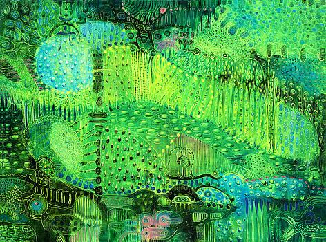 Rain Land I  by Lolita Bronzini