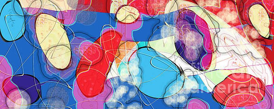 Rain on Stained Glass Window by Gabrielle Schertz