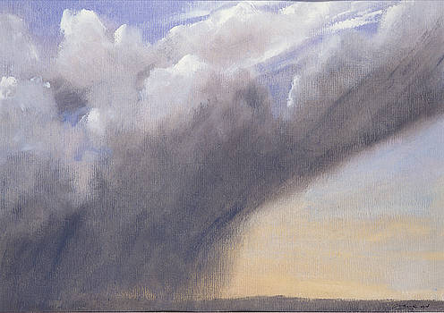 Rain over Seatown by Andrew Crane