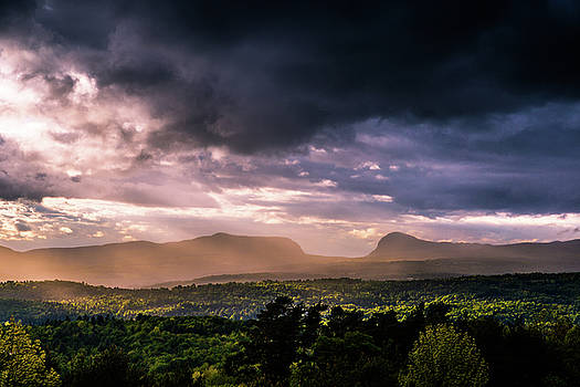 Rain Showers over Willoughby Gap by Tim Kirchoff