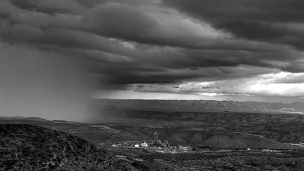 Rain Squall over Jerome by Robert Melvin