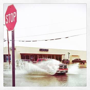 #rain #streetphotography #street #truck by Judy Green