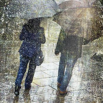 Rain Through the Fountain by LemonArt Photography