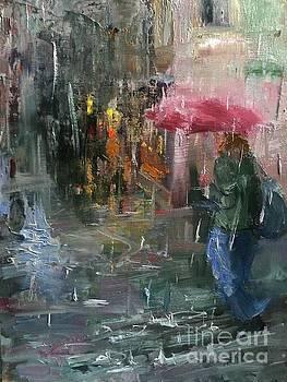 Rain, Venice by Ni Zhu