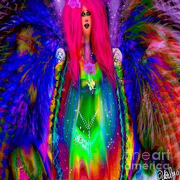 Rainbow Angel  by Aixa Olivo