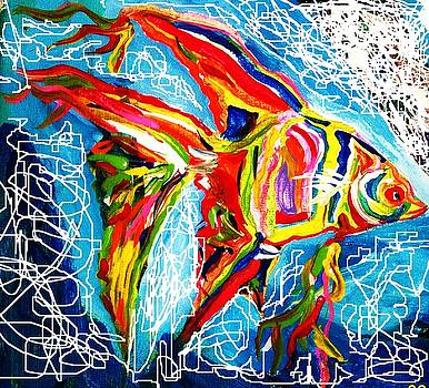 Rainbow angel by Michael Henzel