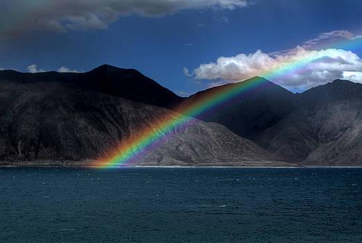 Rohit Chawla - Rainbow at Pangong