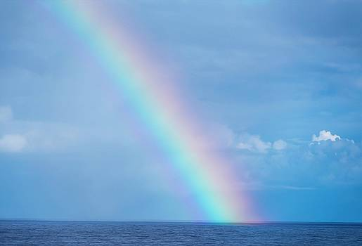 Rainbow at Sea by Robert Bolla