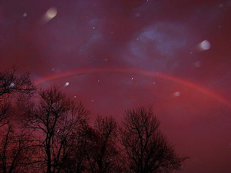 Rainbow at sunset by Mary Halpin