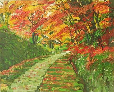 Rainbow Avenue by Ewald Smykomsky