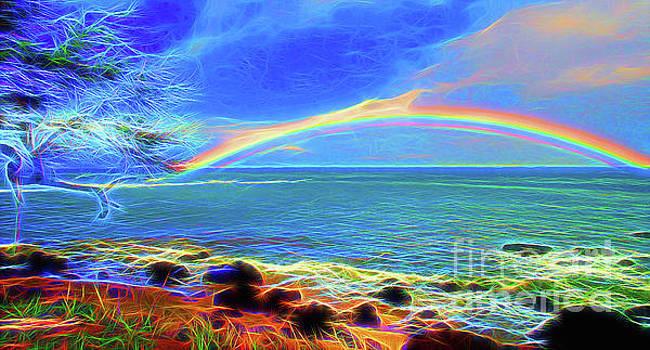 Rainbow Beach by Jerome Stumphauzer