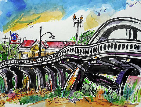 Rainbow Bridge Roseville by Terry Banderas