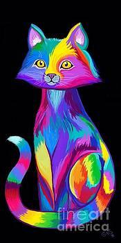 Nick Gustafson - Rainbow Cat