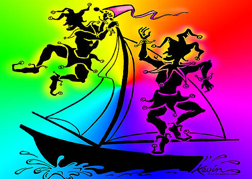Rainbow Celebration by Kevin Middleton