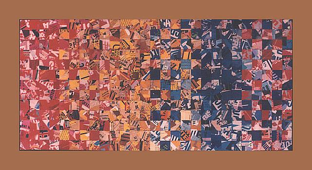 PETER-HUGO MCCLURE - rainbow Collage. 85