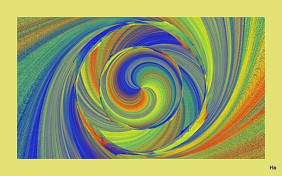Rainbow Colors by Halina Nechyporuk