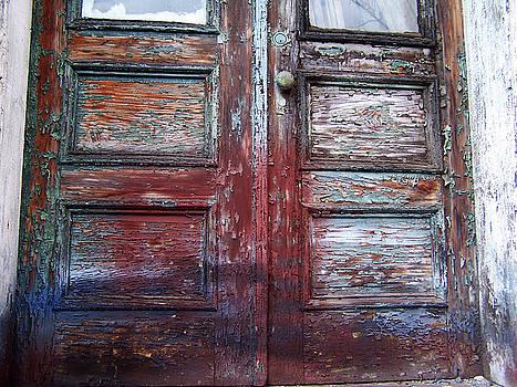 Rainbow Door by Grant Marchand