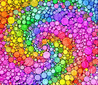 Rainbow Dots by C Branch