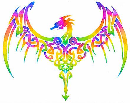 Rainbow Dragon by Sarah Krafft