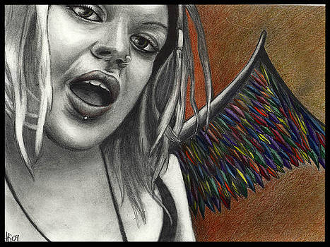 Rainbow Fairy by Alycia Ryan