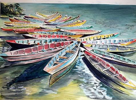 Rainbow Flotilla by Richard Jules