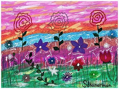 Rainbow Garden by Susan Schanerman