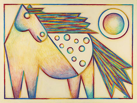 Rainbow Girl by Mary Anne Nagy