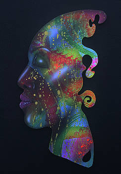 Rainbow Girl X by Fred Odle