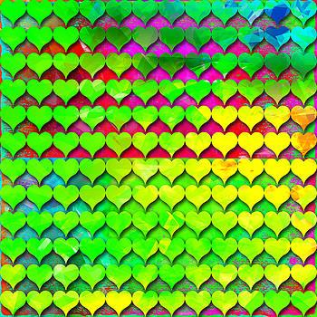 Rainbow hears 4 by Dalia Rubin