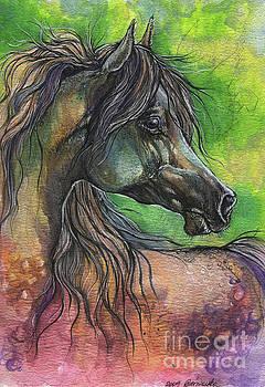 Rainbow horse 2017 06 05 by Angel Tarantella