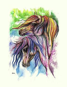 Angel Tarantella - rainbow horses 2016 09 08