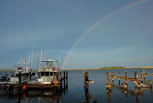 Susanne Van Hulst - Rainbow in Apalachicola FL