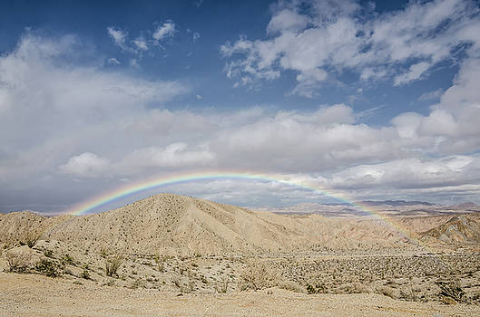 Margaret Pitcher - Rainbow in the Desert