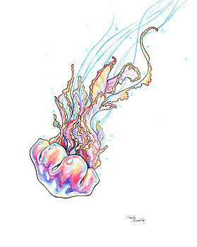 Rainbow Jellyfish by Emily Brantley