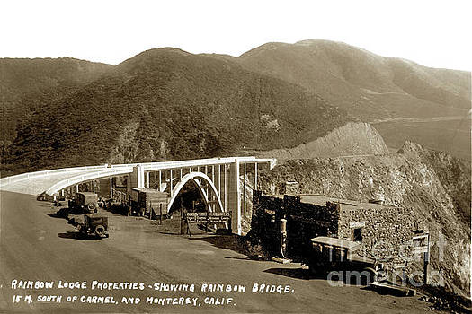 California Views Archives Mr Pat Hathaway Archives - Rainbow Lodge Properties Showing Rainbow Bridge AKA Bixby Bridge 1933